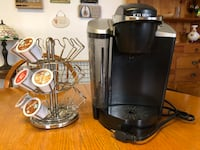 Black and gray keurig coffee maker New Hyde Park, 11040