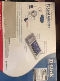 New D-Link PC Card Adapter Upland