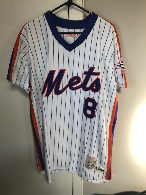 buy online 4bf10 3441e Gary Carter Mitchell Ness New York Mets Jersey