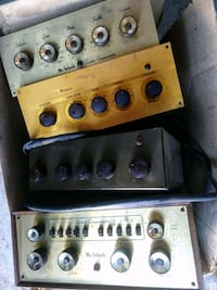 McIntosh mono tube preamps selling for eBay prices Renton, 98055