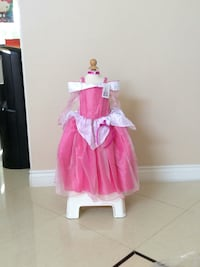 girl's pink and white dress Rancho Cucamonga, 91739