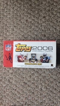 2006 topps nfl football factory set Broken Arrow, 74014