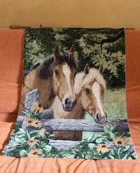 Horse tapestry