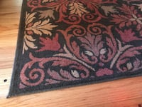 5x8 Brown leaf rug Great Condition Seattle, 98122