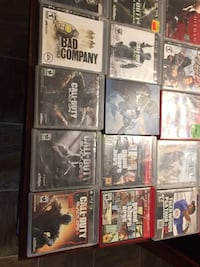 assorted Sony PS3 game cases Edmonton, T5R 4K1