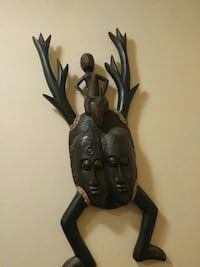 Beautiful wooden carved