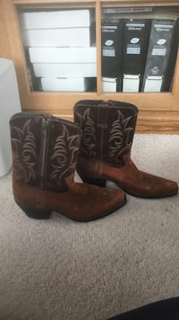 Black and brown cowboy boots Minburn, 50167