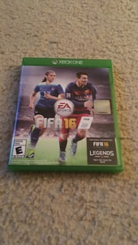 Fifa16 Xbox One game case