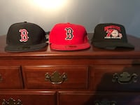 2 new Red Sox caps and 1 mark mcguire 70 home run cap Billerica, 01821