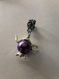 Tea pot purple and silver-colored jewelry Brownsville, 78521