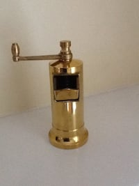 Chef's Mate Solid Brass Pepper/Spice mill La Grange, 60525