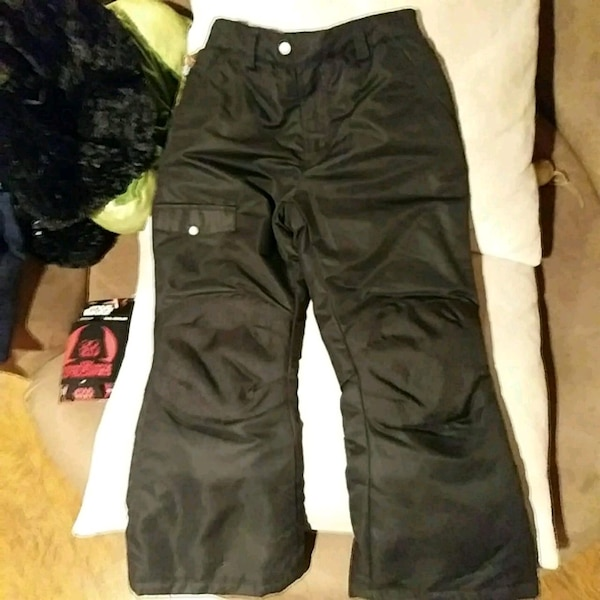 54d24c08b2 Used Boy s size 7 8 black snow pants for sale in East Stroudsburg ...