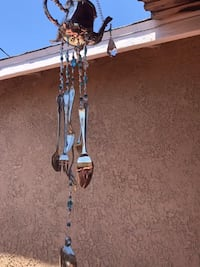 Silver plated tea pot wind chime Long Beach, 90815