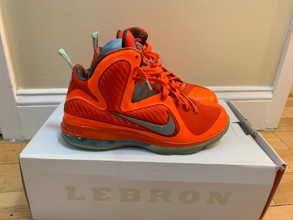 3710b3e64 Used Lebron 9 Galaxy size 8.5 for sale in New York - letgo