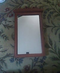 Antique wall mirror. Not sure how old but it's old Randolph, 02368