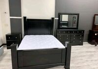 Brand New Ashley Shay Black 4 Piece Bedroom Set Bowie, 20720