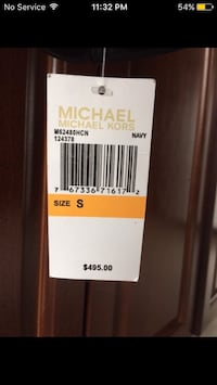 Brand New Michael Kors Leather Jacket  Mississauga, L4W 4X4