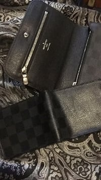AUTHENTIC Louis Vuitton fanny pack and wallet 300 for both  Brantford, N3S 3P7