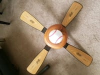 Baseball series collectable ceiling fan.