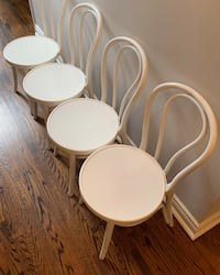 JUST REDUCED - White Ikea French Cafe Chair - set of 4 Toronto, M6C