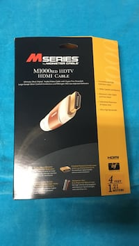 M-Series by Monster cable HDMI.