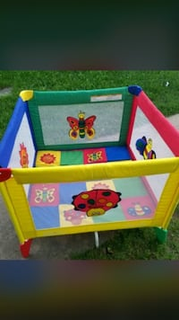 Toddler's red and blue travel cot Alexandria, 22315