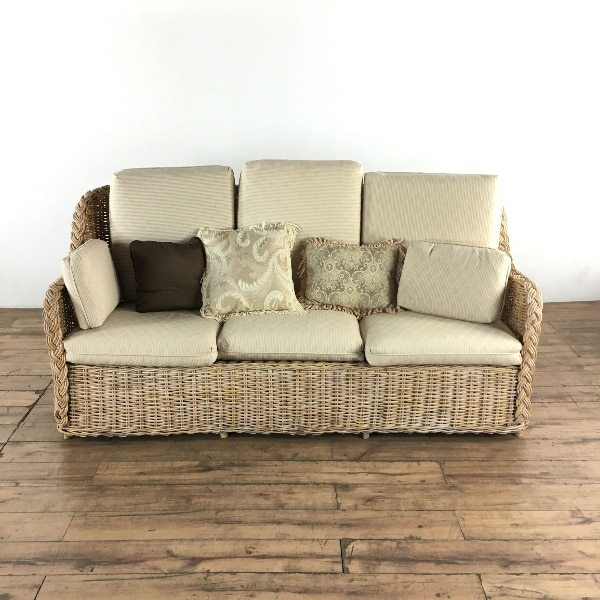 used contemporary upholstered wicker sofa set 1020777 for sale in rh gb letgo com