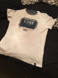 Vit och svart Core crewneck t-shirt Gothenburg, 418 32