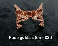 Costume rings - price & sz on photos  Red Deer, T4P 0H7