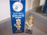 Limited Edition New York Yankees Mickey Mantle Bobblehead Vaughan