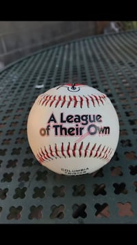 A league of their own signed promotional baseball 1992 Phoenix, 85006
