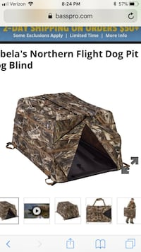 Redhead dog blind Southaven, 38672