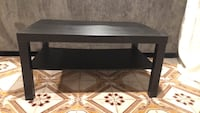 rectangular black wooden coffee table Ridgefield, 07657
