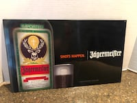 "Jagermeister Tin Sign 10""x17"" Manassas, 20112"