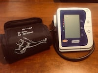 Automatic blood pressure and heart rate cuff. Brampton, L6S 4Z2