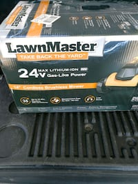 brand new electric lawnmower never been opend  Surrey, V3T 2X6
