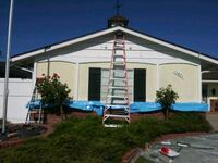 Exterior painting Cypress