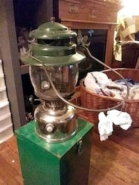 colman lantern with 2 extra flitbags in great condition Langley City, V2Y 0B5