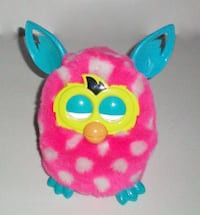 Furby Boom 2012 Interactive Plush Hot Pink with White Spots London