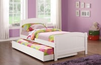Brand new wooden trundle bed (no mattresses) Silver Spring, 20902