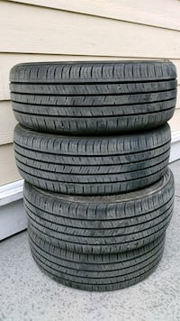Kumho tires, Solus, near new