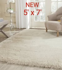 Shag Hand-Tufted Beige Area Rug/NEW Richmond Hill, L4C 3T9