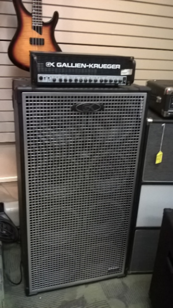 used gk 2002 8x10 bass guitar amp stack for sale in pittsburgh letgo. Black Bedroom Furniture Sets. Home Design Ideas