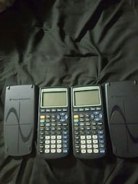 Two Texas Instruments TI-83 Plus. Hyattsville, 20782