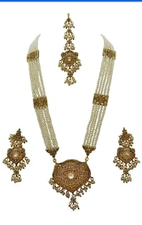 two gold-colored beaded necklaces Laval, H7W 2Z9