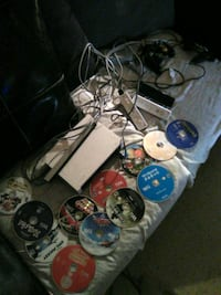 Wii system with games  451 mi