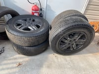 5 tires Michelin latitude 235/65/17 just the tires Baltimore, 21214