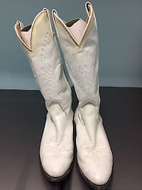 White Country Line Dancing Boots