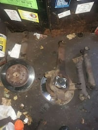 63-67 Corvette drive shaft and strong arm+