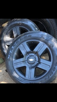 "20"" Chevy wheels and tires- open for trades also Tyler, 75707"